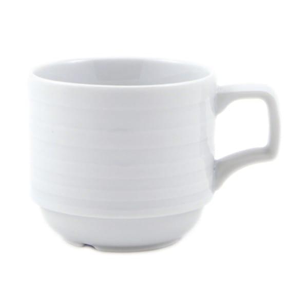 TAZA 130 CC. CAFE PORCELANA ONDAS