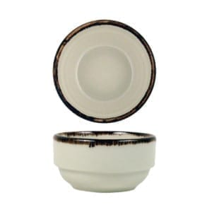 BOWL 8 CM. APILABLE CREMA MANGAN REACTIV