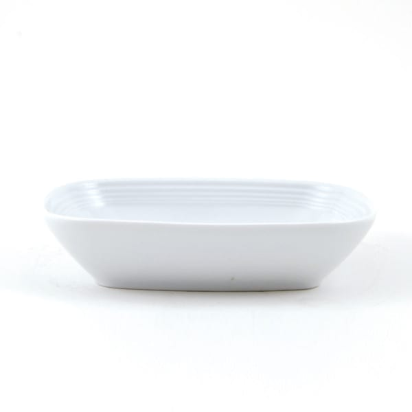 BOWL 17 CM. RECTANGULAR ONDAS